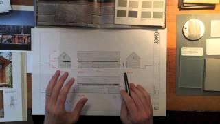 Architect's Design Process : Modern Barn Studio - Material Selections
