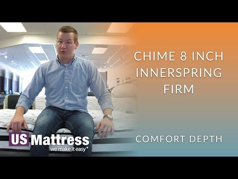 Ashley Chime 8 Inch Innerspring Firm Mattress Comfort Depth 1