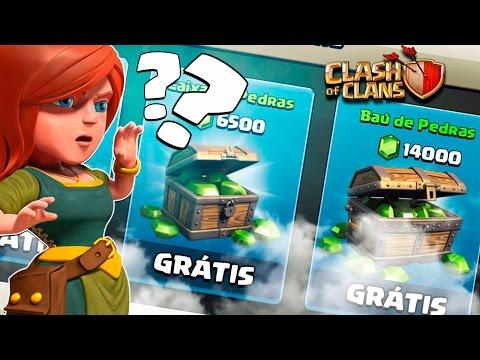 GEMAS GRATIS, SÓ EM SONHO! CLASH OF CLANS!