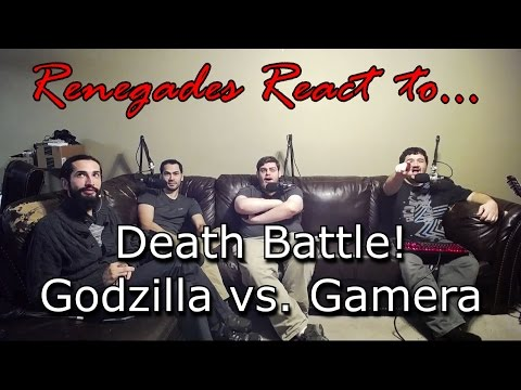 Renegades React to... Death Battle! - Godzilla vs. Gamera