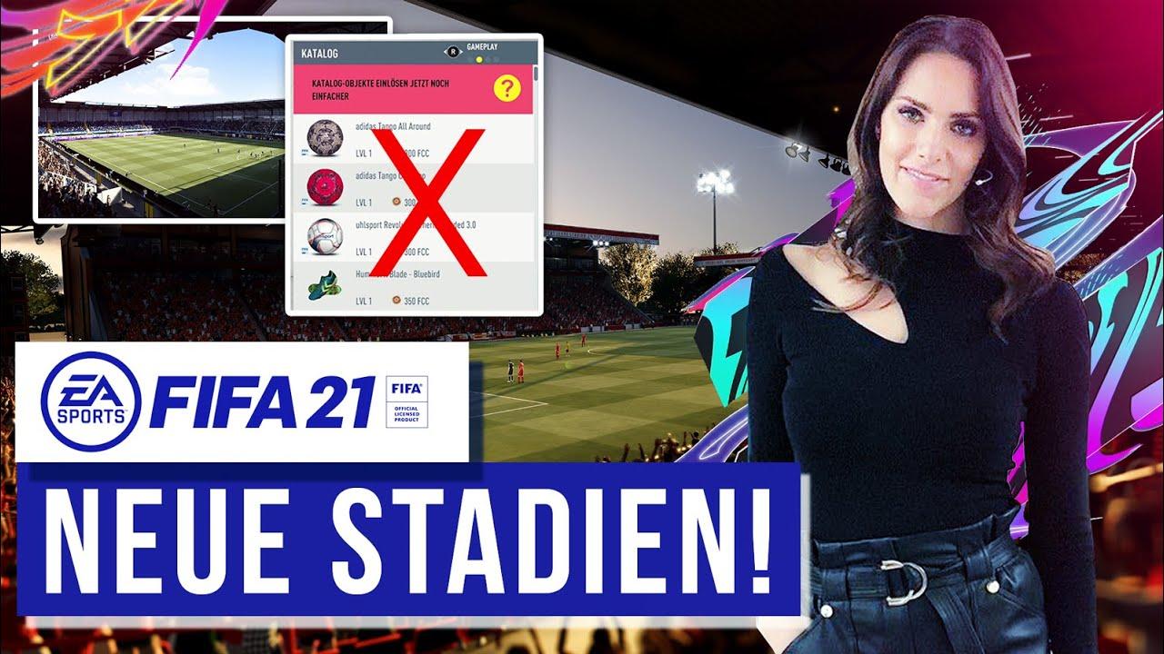 FIFA 21 NEWS ● NEUE BUNDESLIGA STADIEN ? ENDLICH LIVE TICKER ?