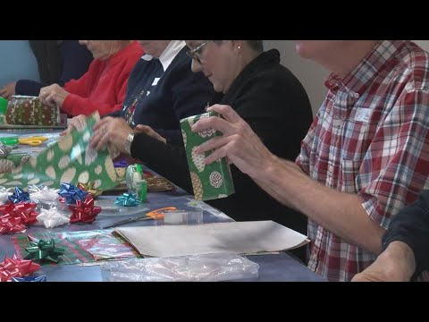 Annual Kids-Kringle event at Mountain View Elementary School