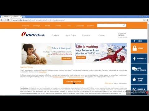 Icici Net Bank Login