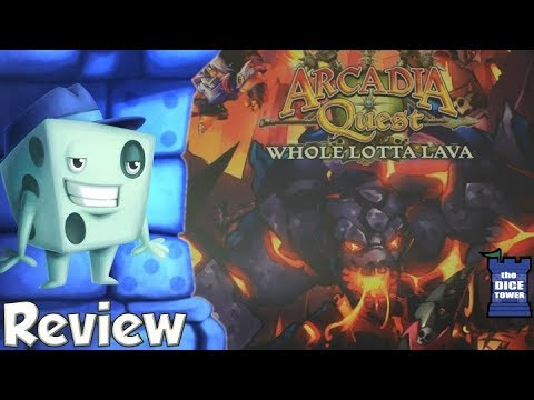 Arcadia Quest Review - with Tom Vasel - YouTube