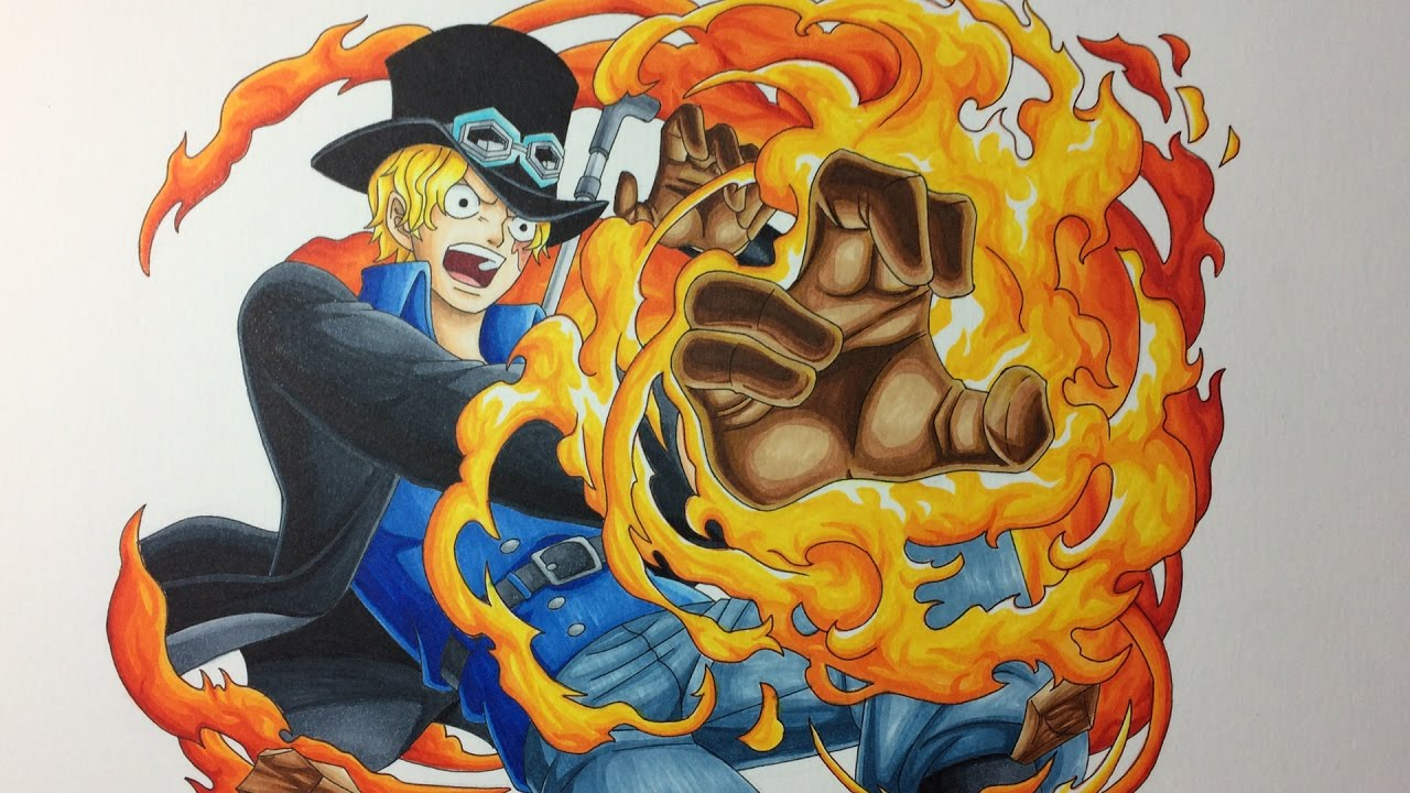 Drawing Sabo One Piece Youtube