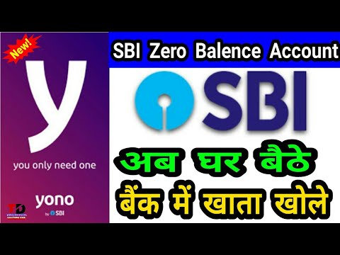 Sbi Yono Open Savings Bank Account In Zero Balence Without