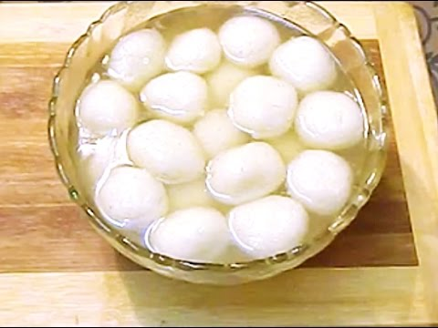Rasgulla recipe /white rasgulle step by step recipe  soft, spongy and syrupy rasgullas like market