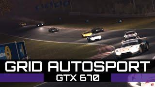 Grid Autosport | Max Settings | 1080p | GTX 670 [60 FPS]