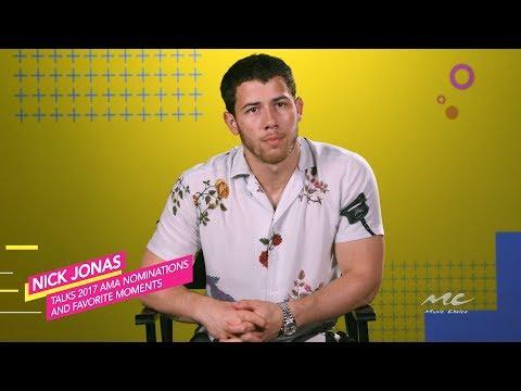 Nick Jonas Predicts the 2017 AMA Noms