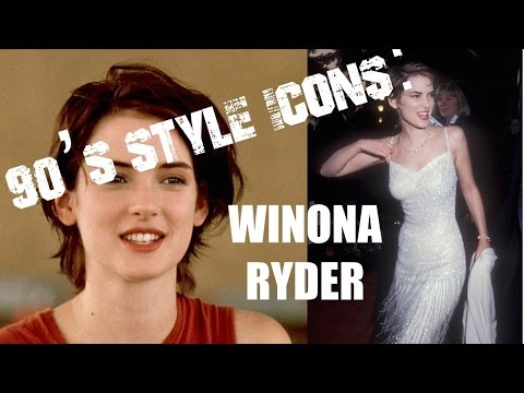 REUPLOAD : 90S STYLE ICONS: WINONA RYDER