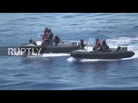 Philippines: Japan and Philippine coast guard hold joint drills off Davao