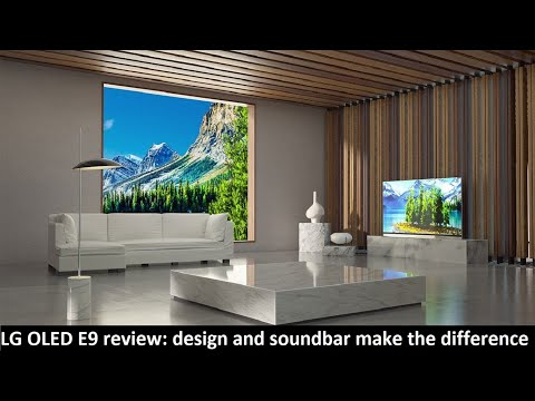 LG OLED E9 review: design and soundbar make the difference