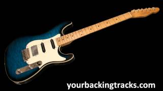 Slow Blues Backing Track in Eb / Jam Tracks & Blues Guitar BackTracks TCDG