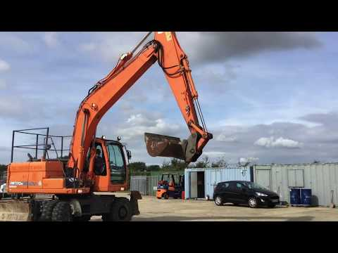 Used Doosan DX170W - 2010 For Sale | Used Wheel Excavator |  Equippo.com | Used Heavy Equipment