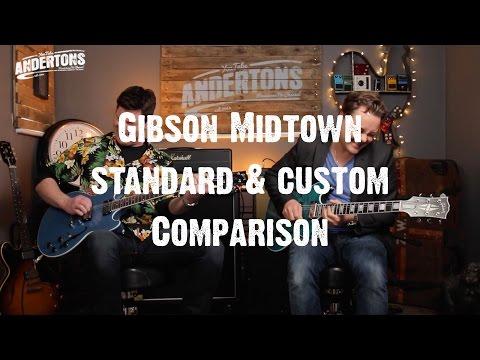 Guitar Paradiso - Gibson Midtown Standard & Custom Comparison