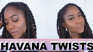 Havana Twists on #Locs #NaturalHair | JASMINE ROSE