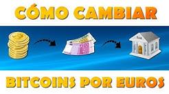 ¿Cómo retirar bitcoins desde Coinbase a un banco en euros?