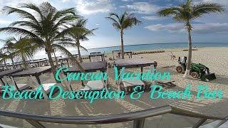 Touring Cancun Hyatt Zilara - Beach, Water Temperature and Bar - Cancun Vacation