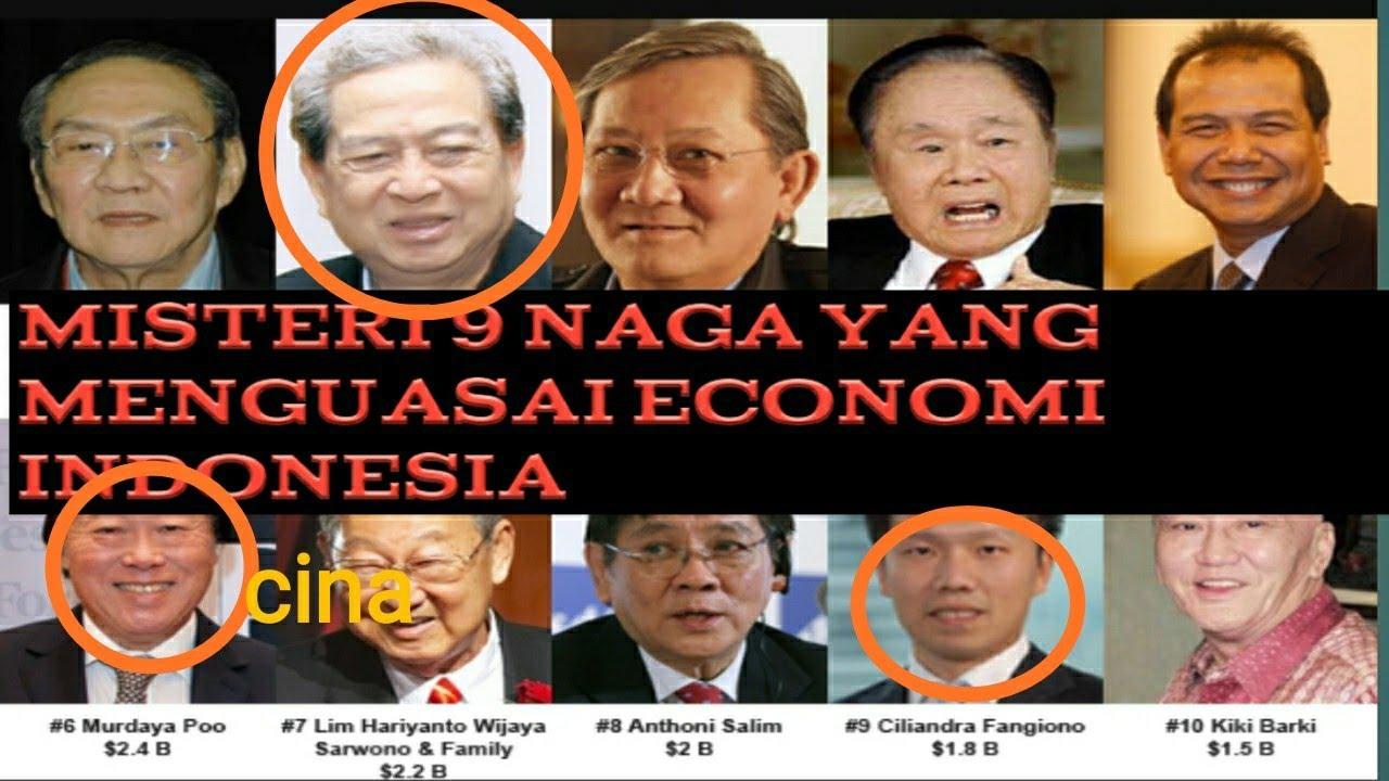 """😱😱Misteri 9 naga yang menguasai ekonomi Indonesia """"kebayakan non pribumi"""" !! - YouTube"""
