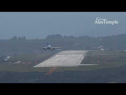 Alvedro desde Montrove - Landing Airbus A320