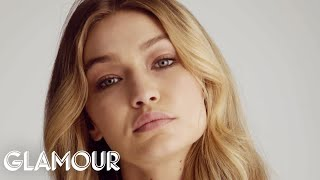 Gigi Hadid Stares at You For 4 Minutes   Glamour