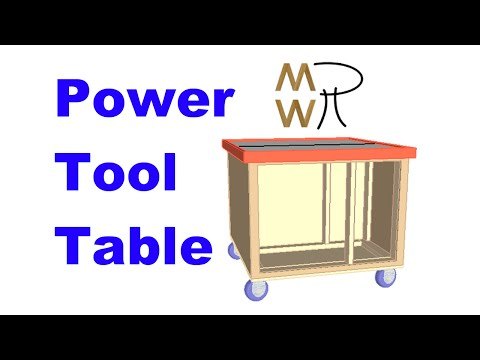 30 - Customizable Power Tool Table - Manhattan Wood Project