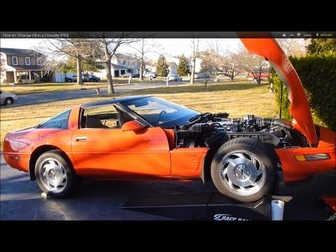 How to Change Oil in a Corvette