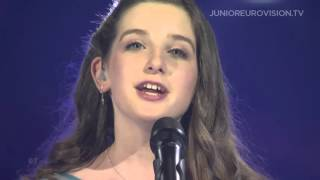Aimee Banks - Réalta na Mara (Ireland) LIVE Junior Eurovision Song Contest 2015