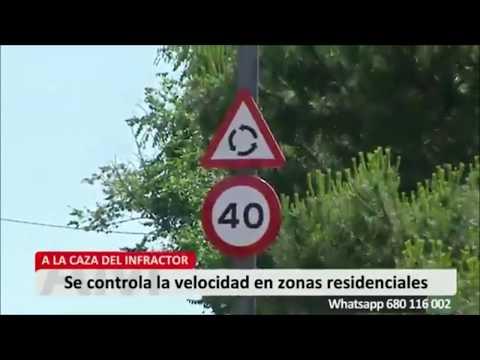 """Reportaje Telemadrid """"Aquí en Madrid"""" sobre la campaña de control de velocidad de Torrelodones"""