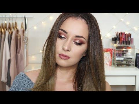 Birthday makeup - Hřejivé tóny a kus zlata   TMT