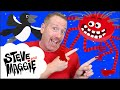 Halloween Broomstick Story for Kids from Steve and Maggie   Wow English TV