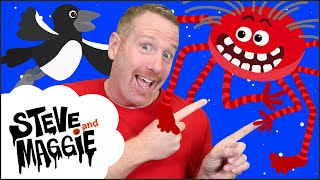 Halloween Broomstick Story For Kids From Steve And Maggie | Wow English TV