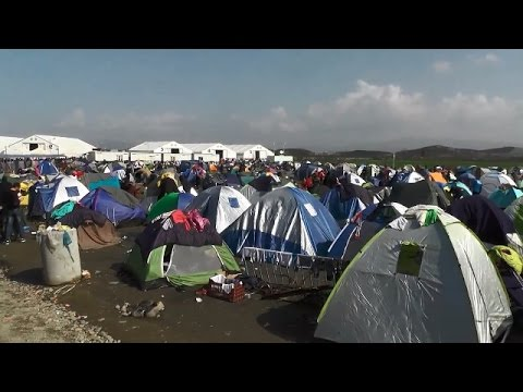 LIVE from Idomeni as thousands remain stranded at Greek-Macedonian border