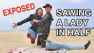 Sawing A Lady in Half -Julien Magic