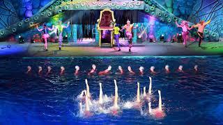 """Новогоднее водное шоу """"Пираты подземного моря"""""""