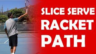 Slice Serve Progression (2/3)   SLICE SERVE