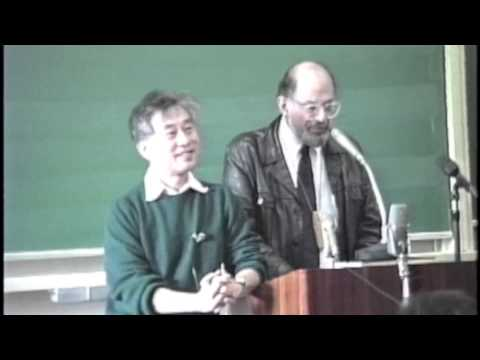 Allen Ginsberg at Kyoto Seika, Nov '88