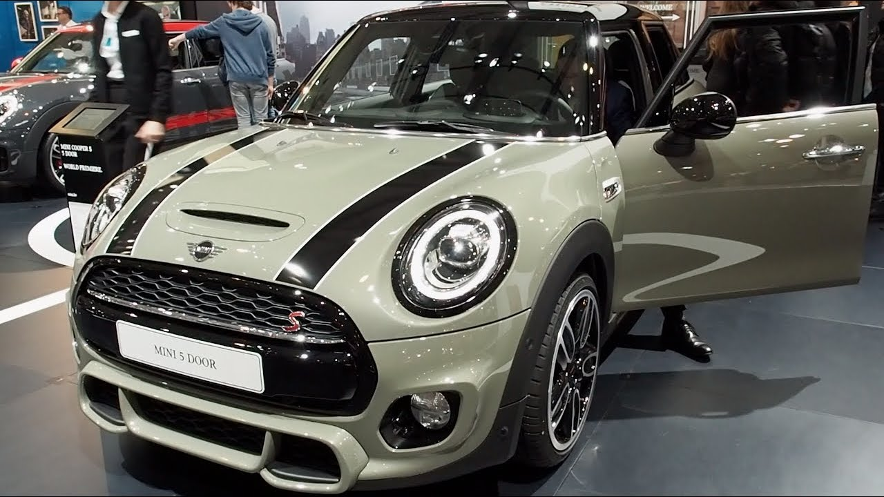 the all new mini cooper s 5 door 2018 in detail review walkaround interior exterior youtube. Black Bedroom Furniture Sets. Home Design Ideas