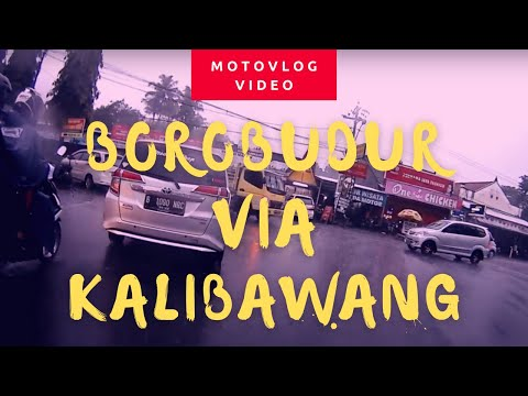 Borobudur ke Godean via Kalibawang, Kehujanan Bro!!