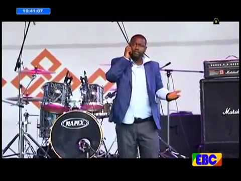 Actor Netsanet workneh entertaining performance at Ethiopian