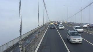 15 Temmuz Şehitler Köprüsü Geçişi (Boğaziçi Köprüsü Sisli Geçiş)
