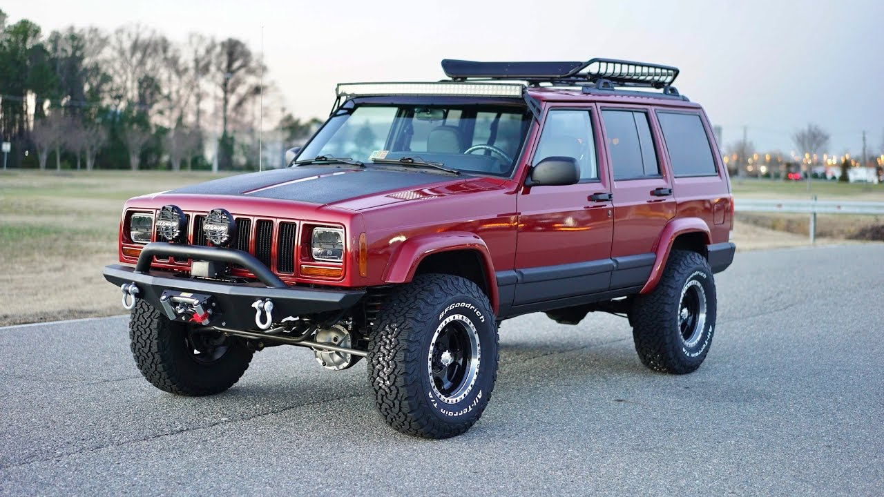 Lifted Jeep Cherokee >> Davis AutoSports Davis AutoSports JEEP CHEROKEE XJ SPORT / LIFTED / CUSTOM BUILD PER SPECS - YouTube