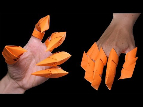 How To Make Origami Dragon Claws Halloween