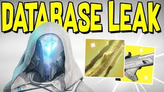 Destiny 2: NEW VEX EXOTIC BLUEPRINT & DATABASE SECRETS! Unknown Exotics, New Items, & Cayde 6 Dies