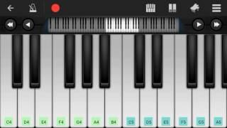 Download Hindi Video Songs - Pehli Dafa | Atif Aslam | Mobile Piano Tutorial
