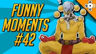Overwatch FUNNY Moments #42 - ONE PUNCH SUPPORT - Highlights Montage