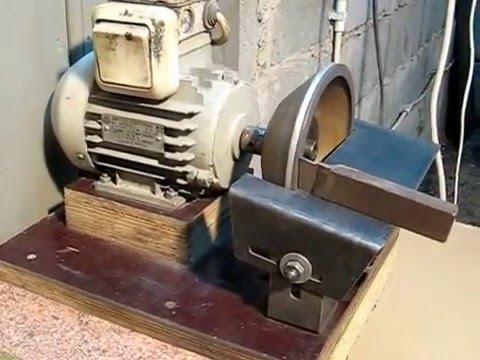 Самодельное точило для правки токарных резцов. - YouTube