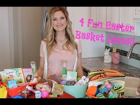 4 Easter Basket Ideas!!