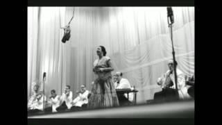 تفاريد كلثومية / أنا و حبيبي يا نيل غايبين عن الوجدان  - الأزبكية 19 مايو 1955م
