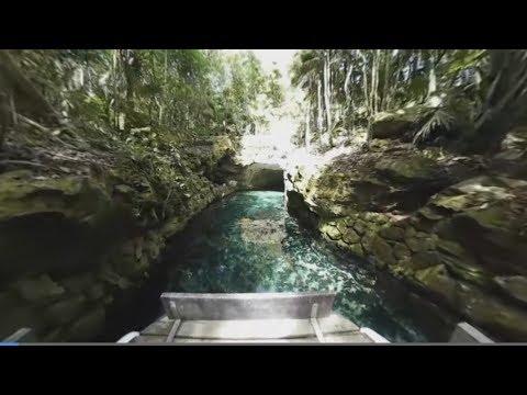 RÍO PARAÍSO (Recorrido Virtual 360°) | Xcaret México! Cancún Eco Park